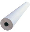 100m White Damask Banquet Roll